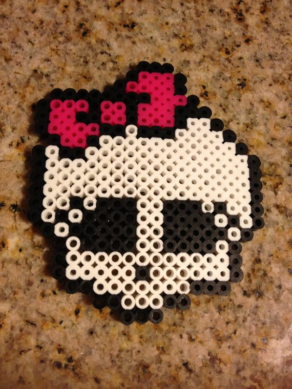 Monster high bead...I might make this for my sister because she loves monster high...maybe she will get me a new cowboy hat for my birthday