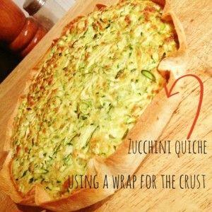 Zucchini Quiche #fastfoodfriday recipe on www.workingmumsmasterclass.com.au