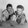 Still of Ron Howard, Frances Bavier and Andy Griffith in The Andy Griffith Show