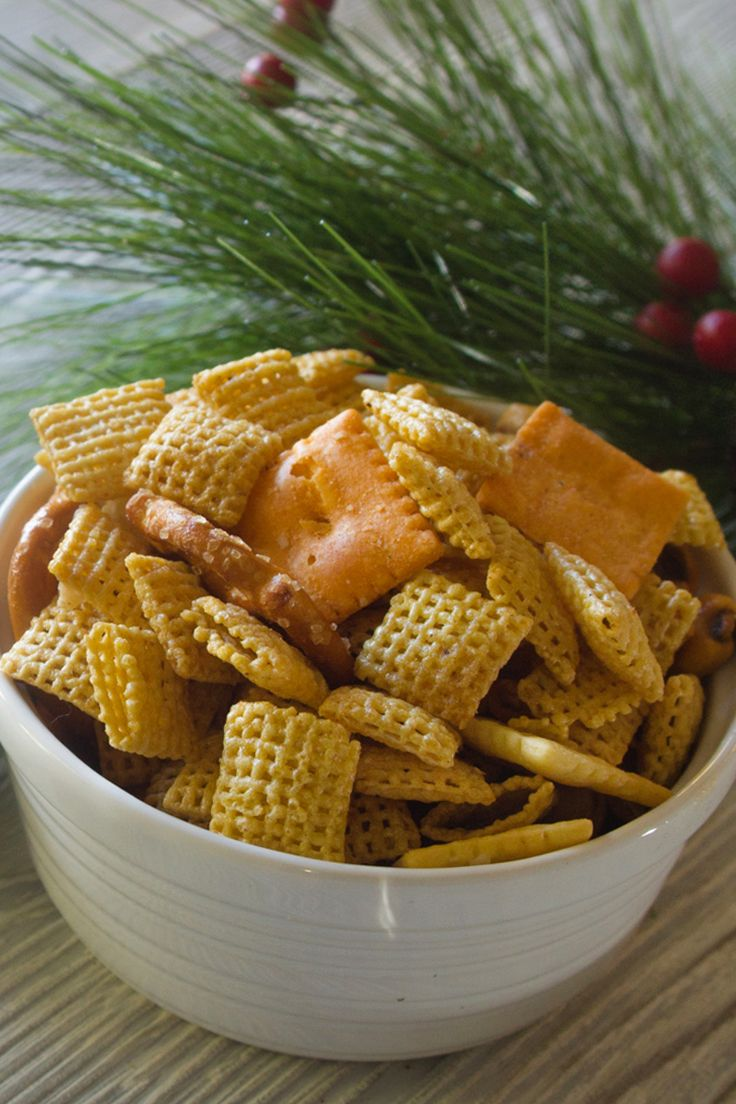 If you want to spice up your holiday party, this is the perfect snack - Chili Lime Chex Mix. Yum!
