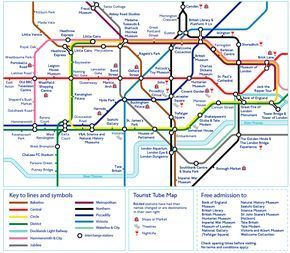 Love planning vacations?  Save this detailed tour map of London to make your trip as easy as tea & crumpets!