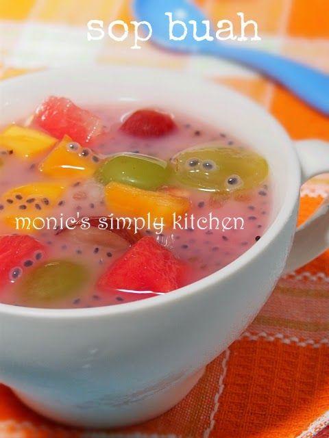 cara membuat sop buah mudah