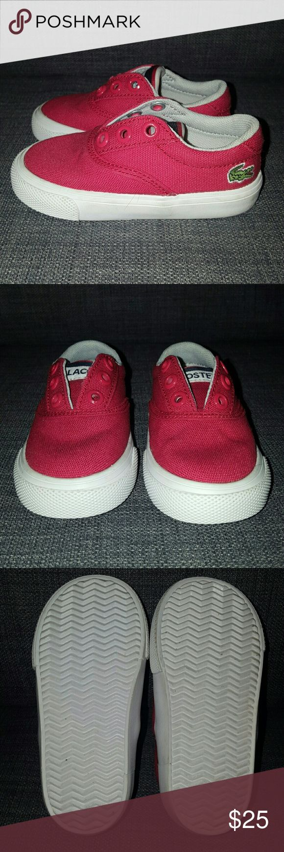 Lacoste Bellevue Clc Casual Infant's Shoes Lacoste Bellevue Clc Casual Infant's Shoes. US 4, UK  3. Brand new, Worn maybe once with no sign of wear. Truely do not come with laces  Smoke free, dog friendly home. I sometimes include FREE extra items, if you are not interested please leave a comment to omit it from your order when purchasing Lacoste Shoes Sneakers