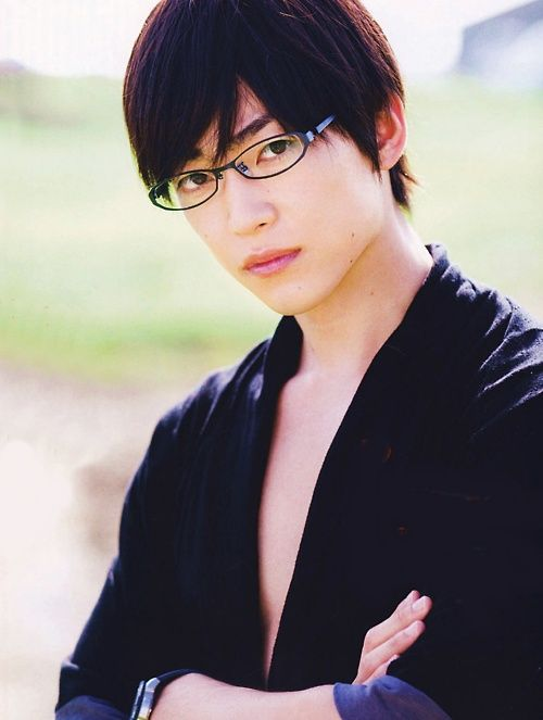 Shunsuke Daito.. The gorgeous actor/model who plays as Kyoya Ootori senpai on Ouran High School Host Club (live-action)