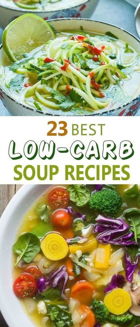 There are 23 Best Low Carb Soup Recipes. These low carb soup recipes are worth trying for your family's health and nutrition. You can add your own creativity and let us know about that. Recipes   In A Crock Pot   Atkins   Easy   Keto   Chicken   Vegetarian   Crockpot   Healthy   High Protein   Gluten Free   Crock Pot