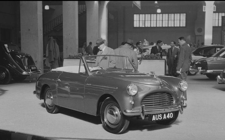 Austin A40 Sports @ Geneva Motor Show 1951 image: Revs Digital Library © Stanford University, Stanford, California 94305