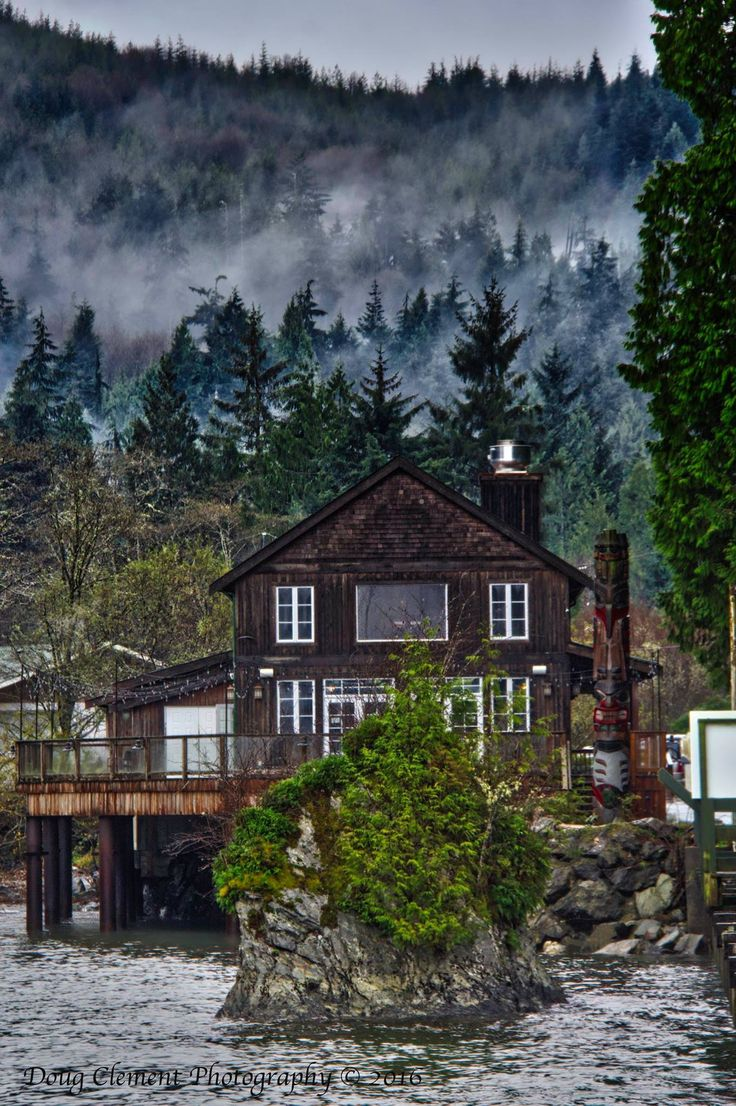 West coast winter at Port Renfrew, Vancouver Island, B.C. by Doug Clement