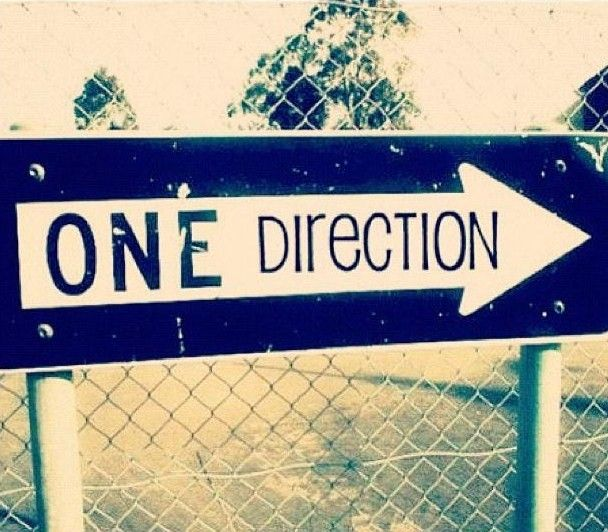 I'd RUN then realize what an idiot I've become that I mistake signs for the Band one direction