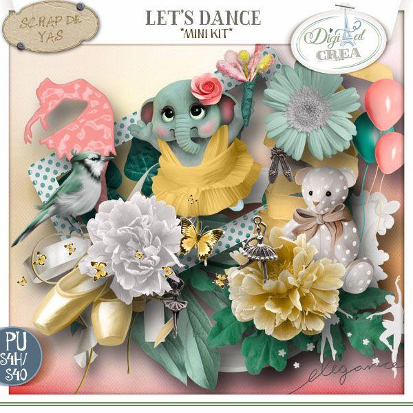 Let's dance, kit by Scrap de Yas