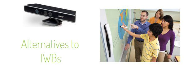Educators know that interactive whiteboards (IWBs) are costly, a tripping hazard if on wheels or and unmovable once fixed to a classroom/library wall. For some small schools, it is a reality that IWBs may simply be too expensive to implement school-wide. But there are alternatives. Other schools may prefer the functionality of IWBs but not the board itself. There are solutions to suit this preference too.