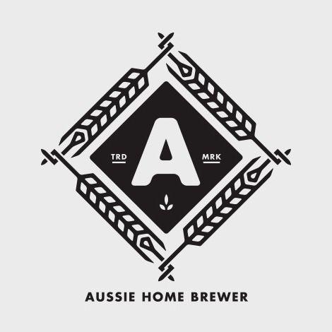 Branding / Aussie Home Brewer Logo