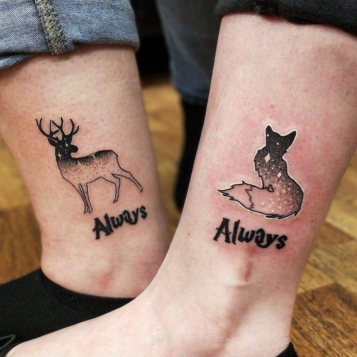 Als U En Uw Significante Andere Zijn Op Zoek Naar Manieren Om Je Liefde Te Verklaren Voor Elkaar De In 2020 Matching Couple Tattoos Couple Tattoos Love Couple Tattoos