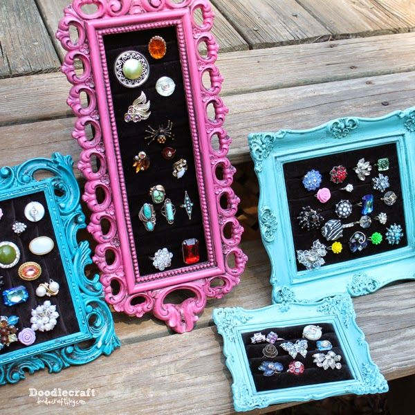 Vintage Frame Ring Display!