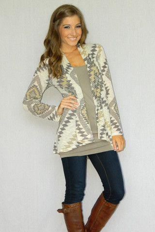 South of the Border Cardigan | Girly Girl Boutique
