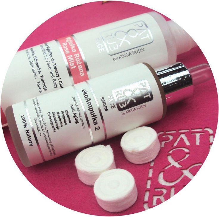 Maseczka anti aging: ekoAmpułka 2 - serum anti aging (poprawia elastyczność i napięcie, zwalcza wolne rodniki, nawilża) i mgiełka z hydrolatem z róży damasceńskiej (koi, nawilża, wzmacnia naczynka) + maseczki w tabletce.