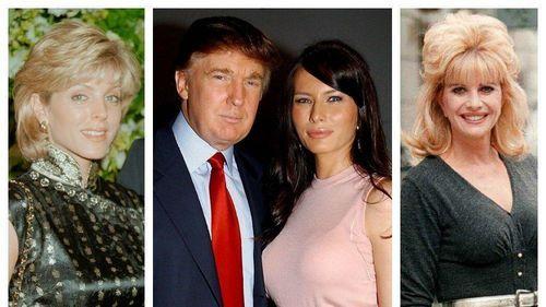Todo lo que tienes que saber de las 3 mujeres que llevaron al altar a Donald Trump (FOTOS)