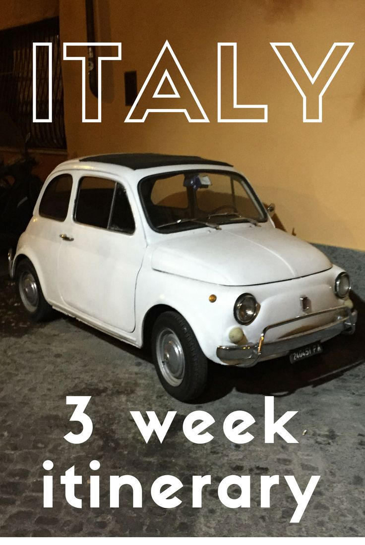 We travelled Italy for just under three weeks - here's where we went and some of what we spent!