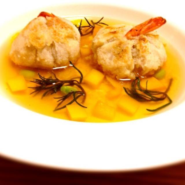 食べ応えあり(*^o^*) - 15件のもぐもぐ - 海老芋のスープ by meruhatiuruhu