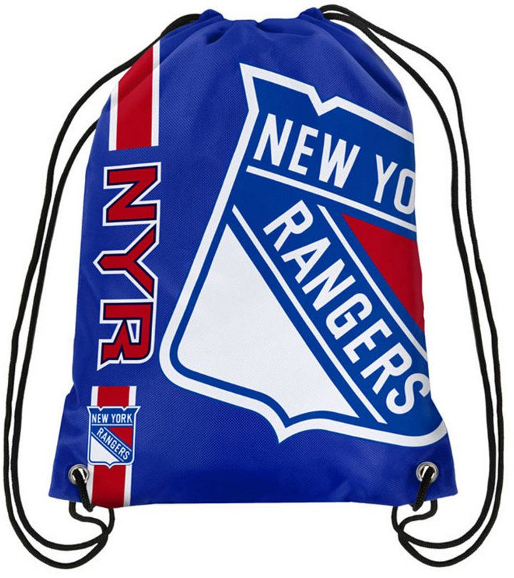 Forever Collectibles New York Rangers Big Logo Drawstring Bag