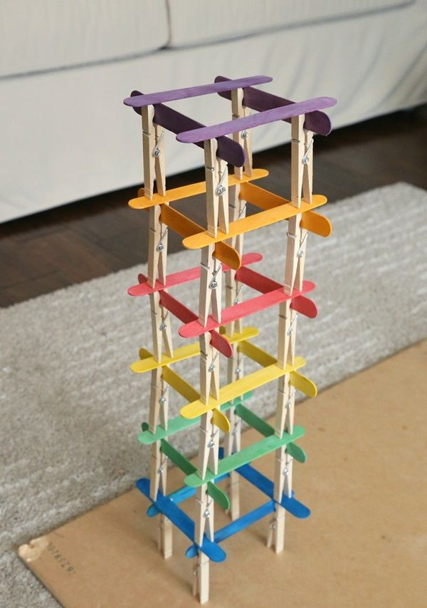 35 So Adorable Popsicle Stick Craft House Designs For Fun Craft