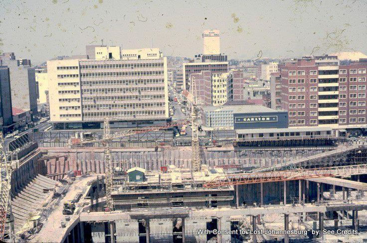 Carlton Centre under construction 1972