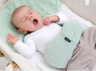 Woller Warmtekussen bovenaanzicht kruik baby