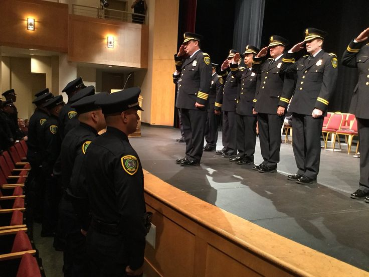 Houston PoliceVerified account   @houstonpolice  17h17 hours ago  More  Chief @ArtAcevedo welcomes Class L11-17 to the HPD family!