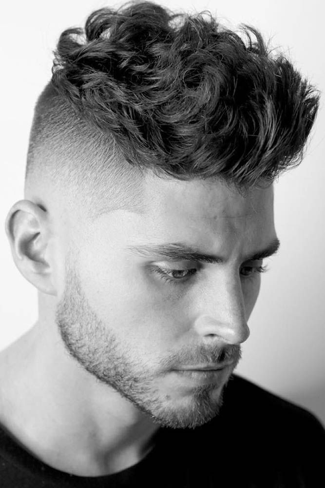 How To Get And Style Curly Hair Men Like To Sport Lovehairstyles Com Fade Haircut Curly Hair Men Wavy Hair Men