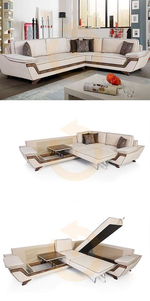 Fonksiyonel tasarıma sahip Alfa Köşe Takımı Mobilyam Online farkı ile satışta!