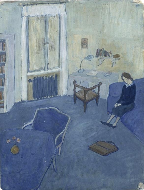 charlotte salomon(1917–43), Vgl 4824  Zie ook: 4824 http://www.jhm.nl/collectie/thema's/charlotte-salomon/leben-oder-theater p.18