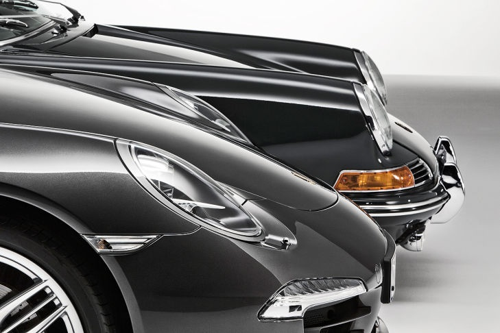 50 years Porsche 911