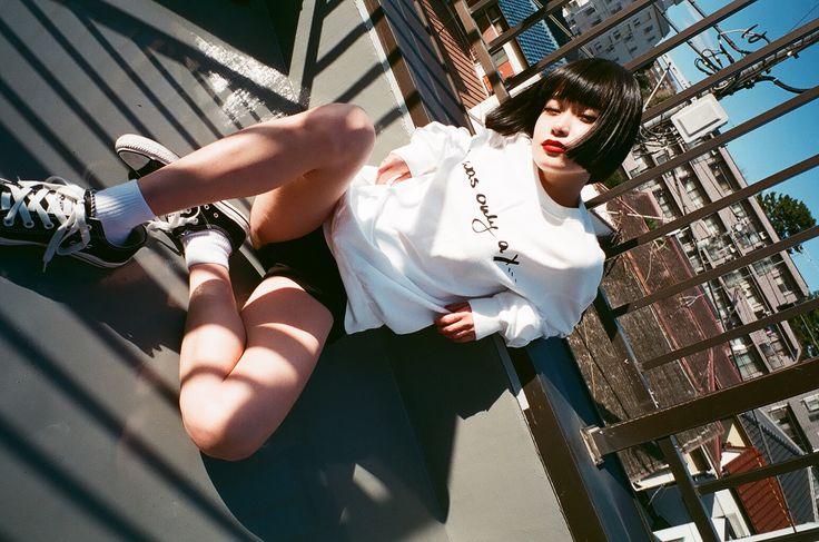 COSSAC in Tokyo:  photography - Miri Matsufuji  model - Ameri Nakamura Fashion: COSSAC #ecofashion #sustfashion #ecohot #fashionphotography #photography #tokyo