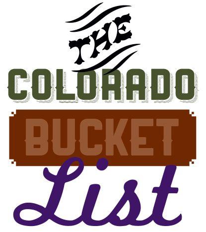5280's Colorado Bucket List