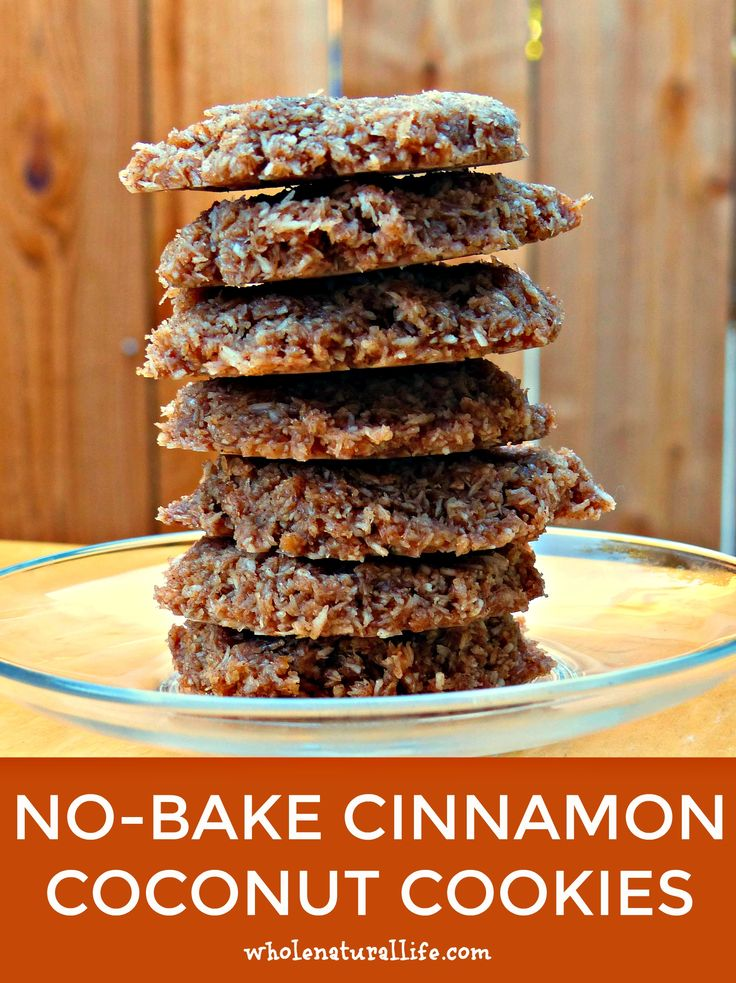 These no-bake cinnamon cookies are bursting with shredded coconut and intense cinnamon flavor. They're also naturally gluten-free, grain-free,, egg-free and really easy to make!