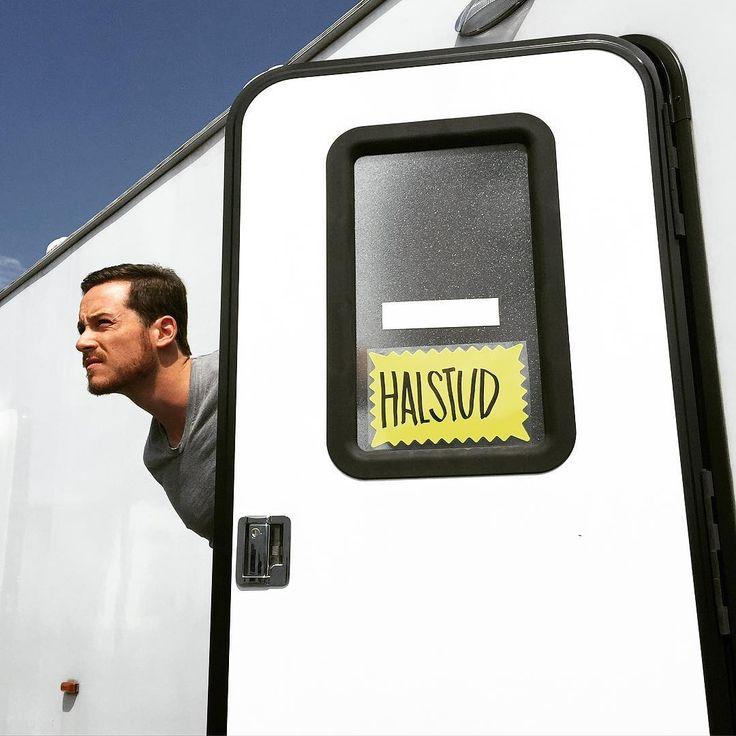 "Sophia Bush on Instagram: ""someone re-labeled @jesseleesoffer's trailer door to make it more accurate  #FilmingOnASaturday #AtLeastOurCrewHasASenseOfHumorAboutIt #HalSTUD"""