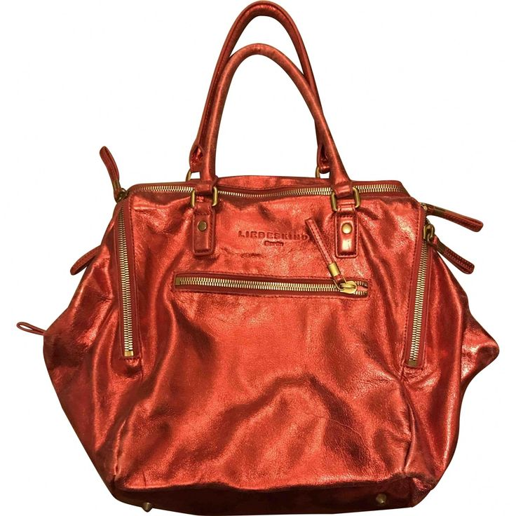 Red Metallic Handbag | Liebeskind | Catchys