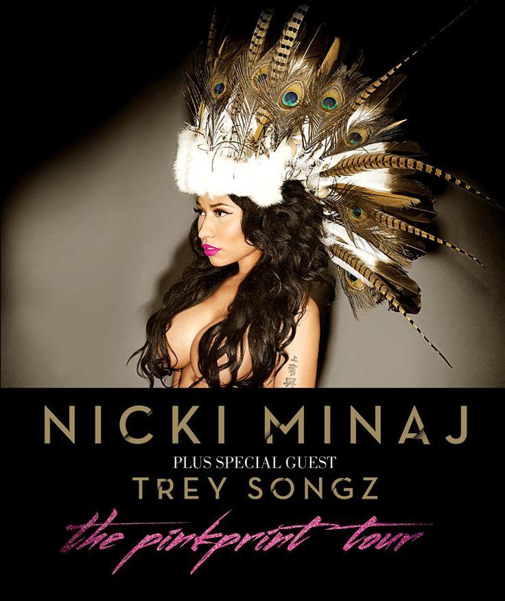 Nicki Minaj - The Pinkprint Tour 31 March 2015 at 3Arena, Dublin 1 April 2015 at Odyssey Arena, Belfast