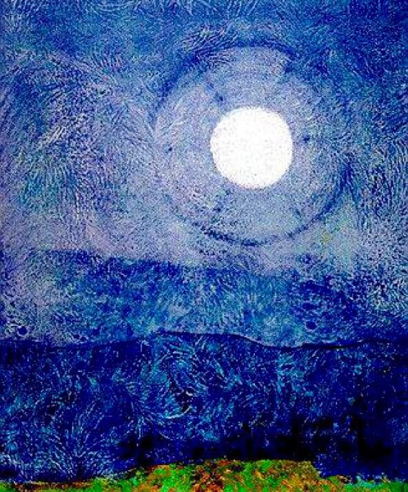 Max Ernst - The Nights of the World
