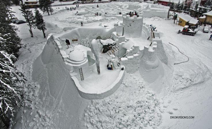 Snowlandia - zamek tatrzański w Zakopanem