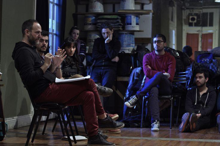 Workshop Panorama Sur 2014 : La desintegración del discurso realista y su elasticidad, por la Compañía Buenos Aires Escénica. (Foto: Ernesto Donegana)