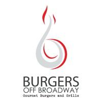 Burgers Off Broadway logo.