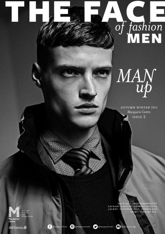 DANE BELL for THE FACE OF FASHION MAGAZINE