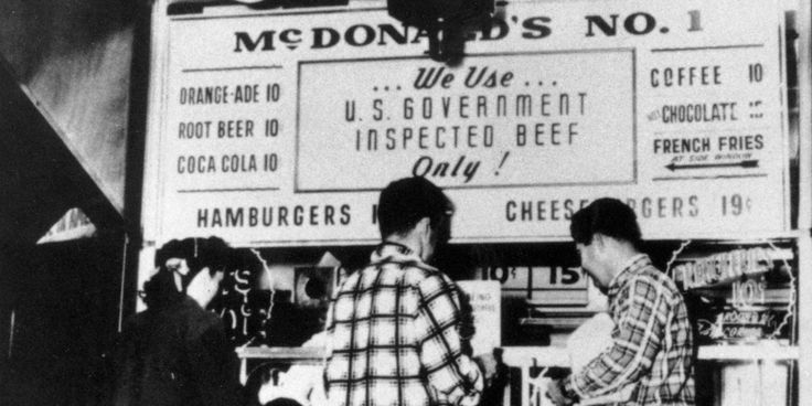 The first McDonald's opened 77 years ago: PHOTOS