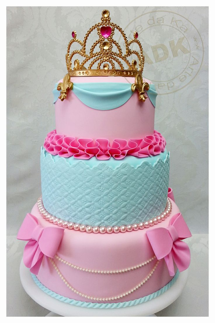 Princess Party Bright ~ princess cake