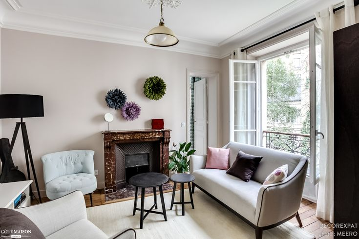 Les 13 meilleures images du tableau r novation appartement - Charmant appartement lumineux touches couleurs ...