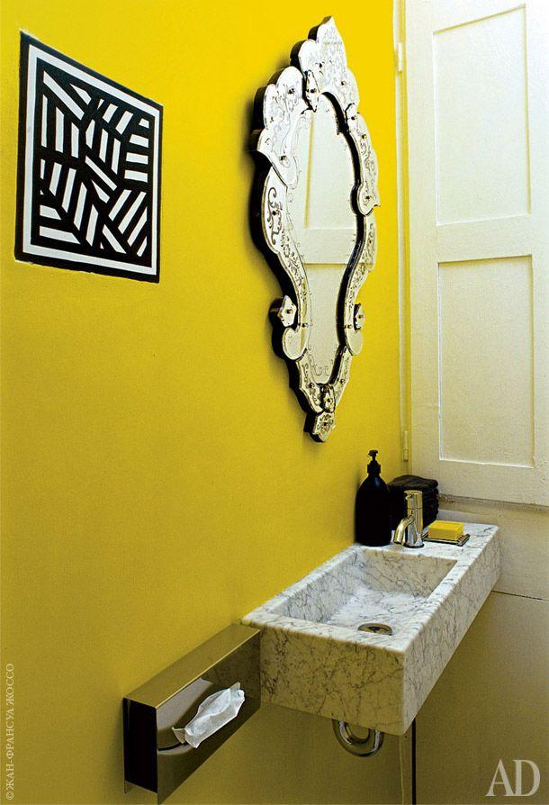 Дом в Сен-Тропе, дизайнер Фредерик Мешиш. Нажмите на фото, чтобы посмотреть все интерьеры дома.