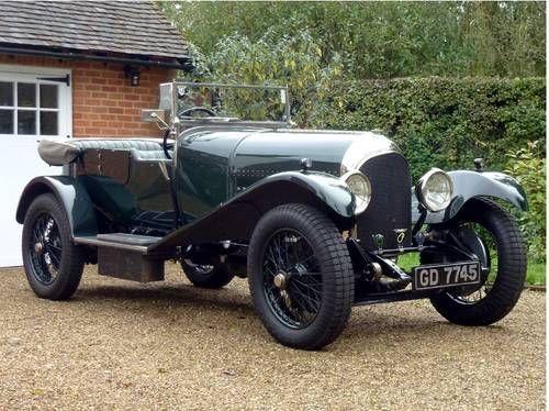 Bentley 3 Litre Speed Model Tourer - (1927)