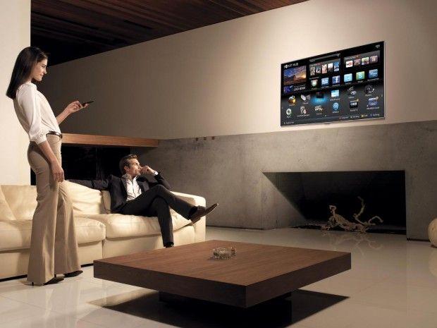 smart tv living room