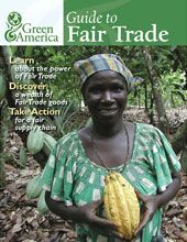Guide to Fair Trade.  List a bunch of different industries and fair trade companies in America that sell it.  Kind of neat.  Have to sort through a bunch of smaller companies, but there are some really promising ones