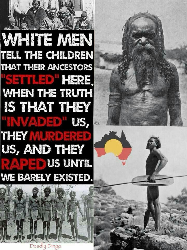 America and Australië was owned by BLACKS before the whites came